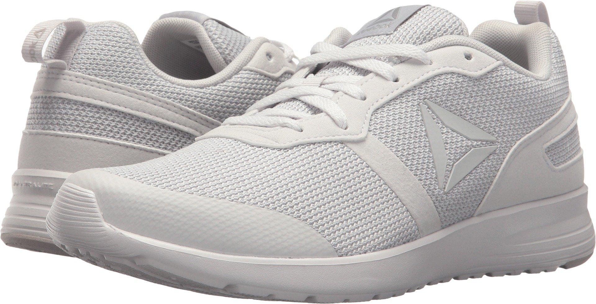 Reebok Women's Foster Flyer Track Shoe,Porcelain/Steel,6.5 M US