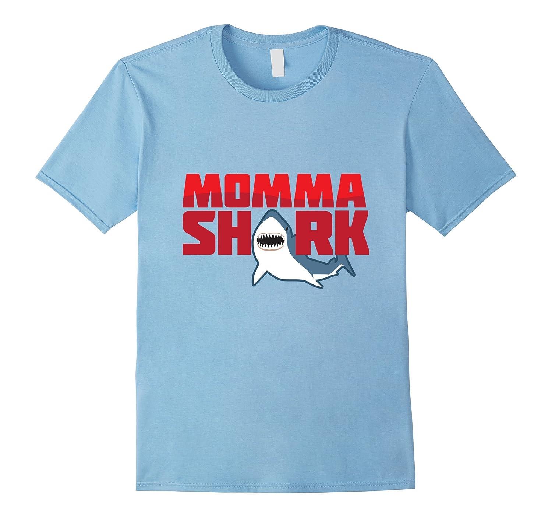 71d3a2af Momma Shark Tee Funny Shark Tshirt-PL – Polozatee