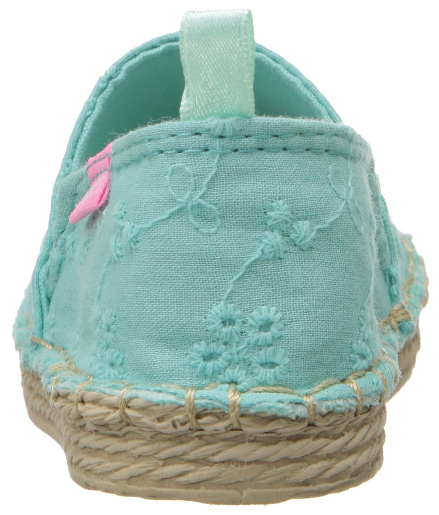 Carter's Astrid Girl's Espadrille Slip-On, Turquoise, 10 M US Toddler by Carter's (Image #2)