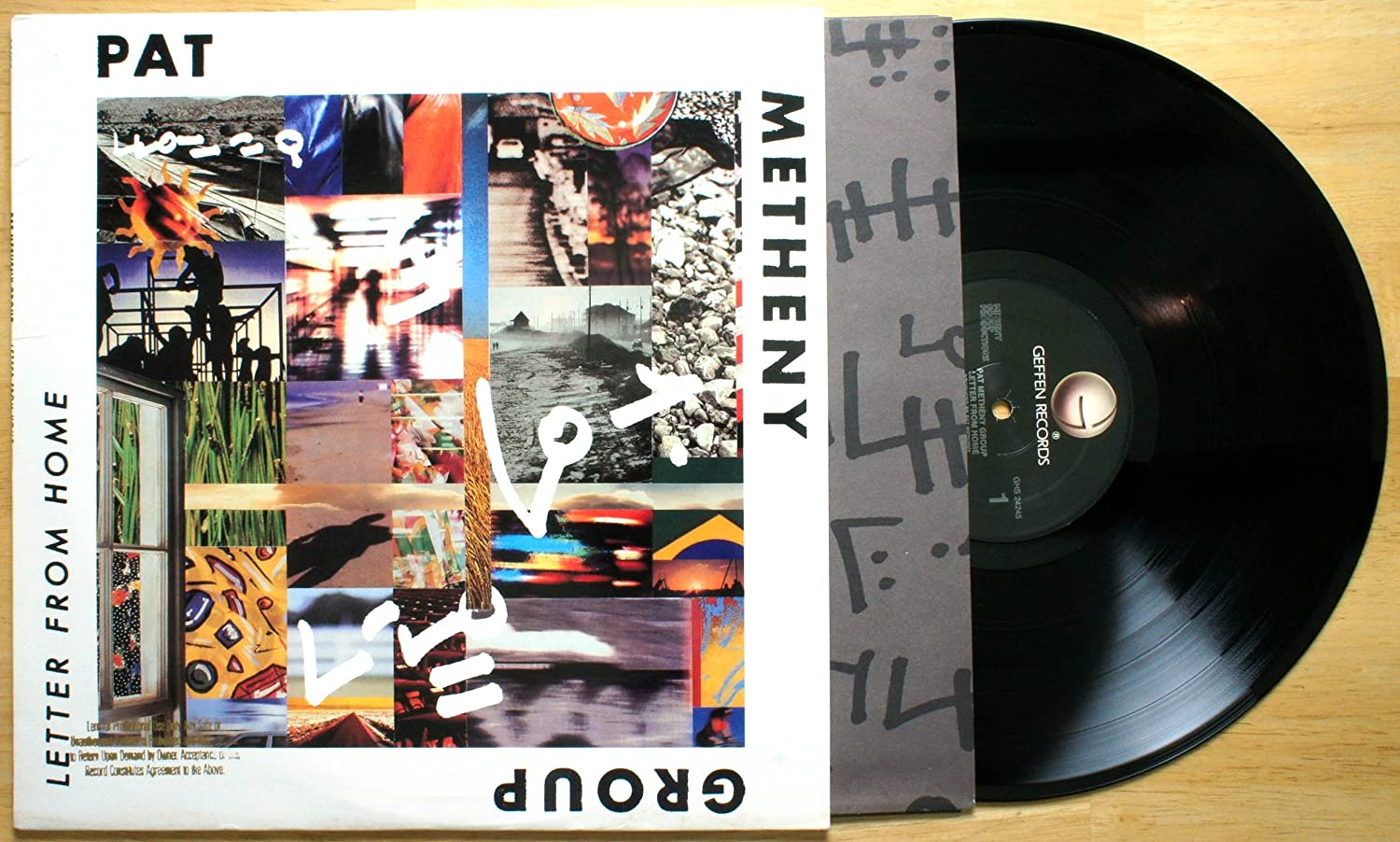 Pat Metheny Group: Letters From Home [ LP Vinyl ]