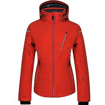 TSUNAMI - Chaqueta de esquí para Mujer 208 Dominate Rojo: Amazon.es: Deportes y aire libre