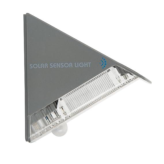 Lámpara para pared Smartwares 5000.261 - Energía solar - Detector de movimiento: Amazon.es: Hogar