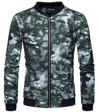 ee9d877592a8 Veste Homme Printemps Slim Fit Jacket Blazer Blouson Casual Loisir Affaires  Mariage Manteau Pardessus Zippé (