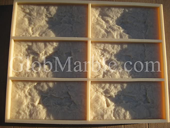NEW RUBBER LATEX MOULD MOULDS MOLD TO MAKE GARDEN CONCRETE CRAZY MAD STONE