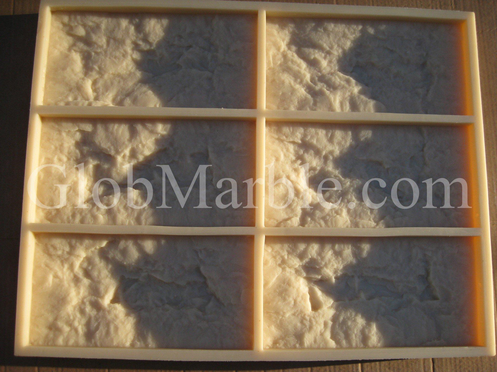 Rubber Molds for Plaster, Concrete, Cement Stone 1101