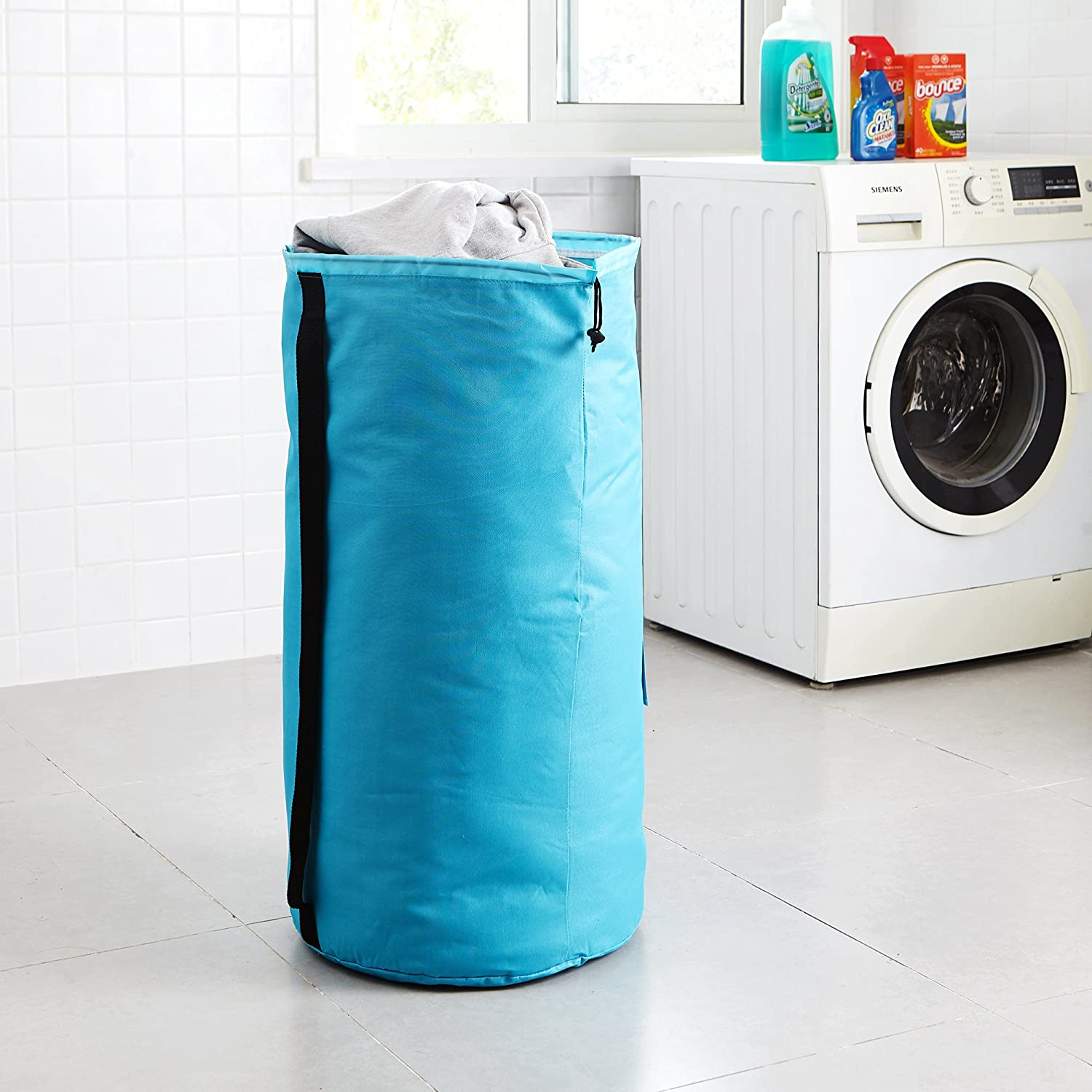 DormCo Laundry Backpack - TUSK College Storage - Aqua