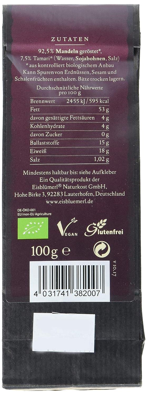 Eisblümerl Bio Tamari Mandeln, 2er Pack (2 x 100 g): Amazon