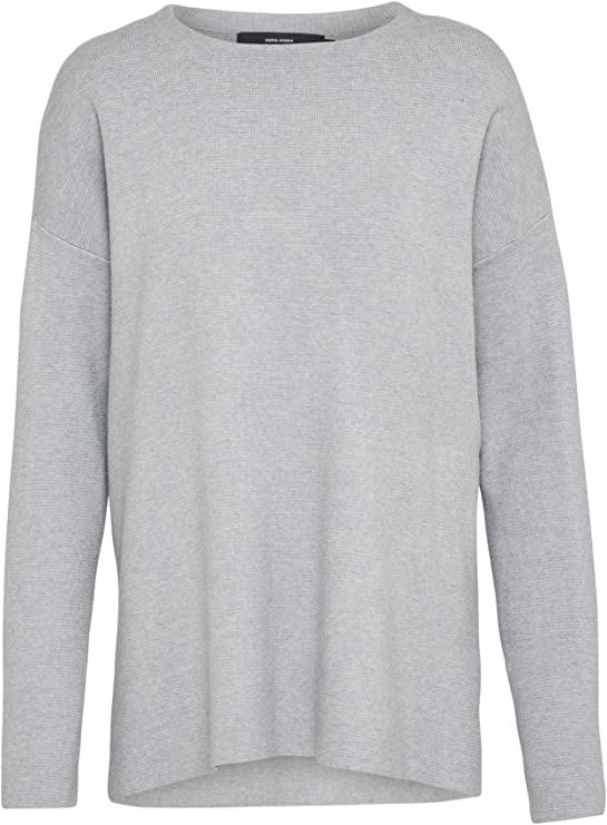 TALLA S. Vero Moda Vmjulie LS O-Neck Slit Blouse Boo suéter para Mujer