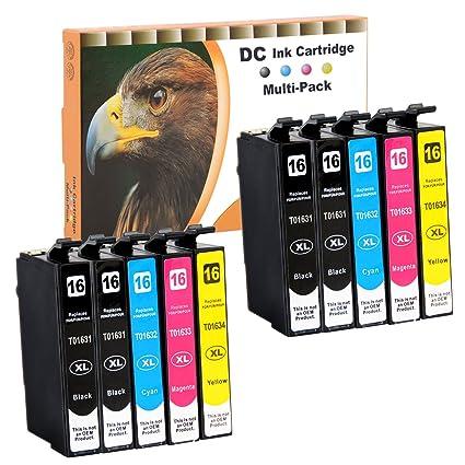 D&C 10er Set Cartuchos de Tinta Cartuchos de impresora (No ...