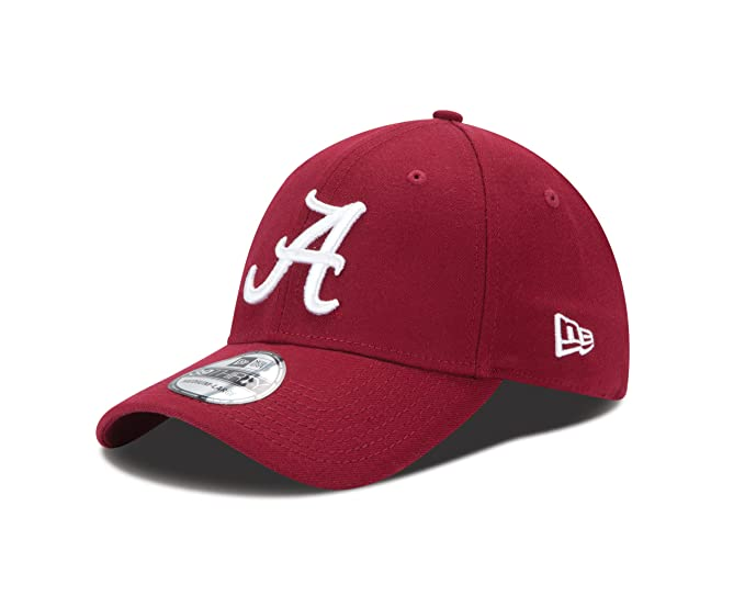 buy popular de859 cda75 New Era NCAA Alabama Crimson Tide College Team Classic 39Thirty Cap,  Cardinal, Small