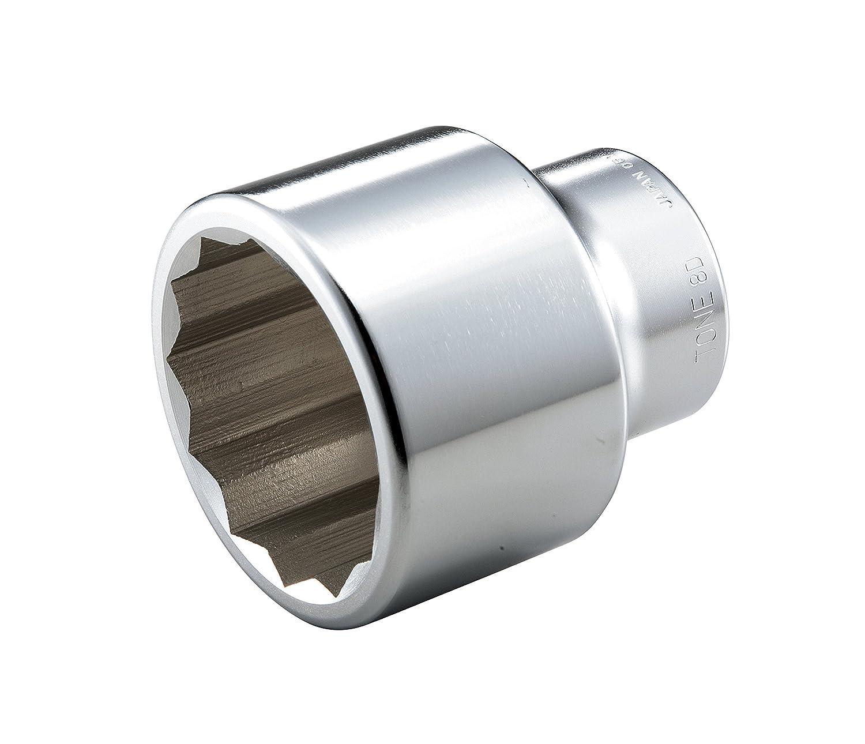 トネ(TONE) ソケット(12角) 8D-95 差込角25.4mm 二面幅95mm B00D2JFNUI 二面幅:95mm