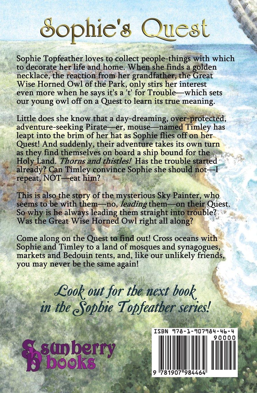 Amazon: Sophie's Quest (sophie Topfeather) (9781907984464): Sonja  Anderson: Books