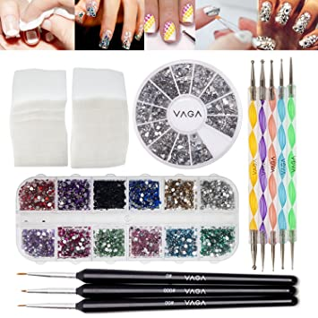 Amazon Best Quality Professional Nail Art Set Kit With