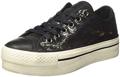 362e3196d1c31 Converse Damen CTAS Ox Platform Sequins Low-top