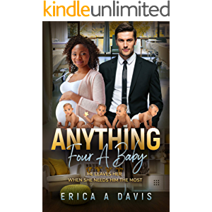 Anything Four A Baby: BWWM, Pregnancy, Quadruplets, Billionaire Romance