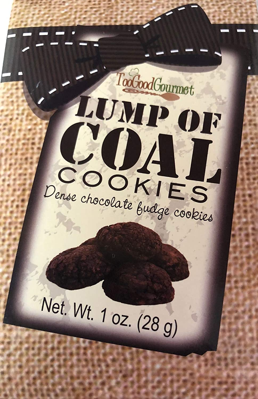 Too Good Gourmet Lump Of Coal Cookies 1 Ounce