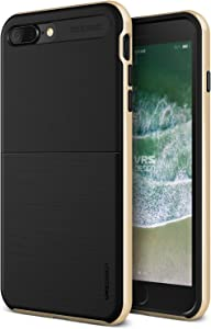iPhone 7 Plus Case VRS Design Protective Case [Gold] Shockproof Heavy Duty Bumper Case Premium TPU Hard PC Cover Pro Shield for Apple iPhone 7 Plus