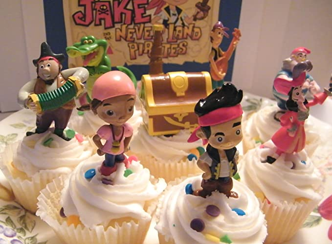 Amazon.com: Disney Jake and the Never Land Pirates Figura ...