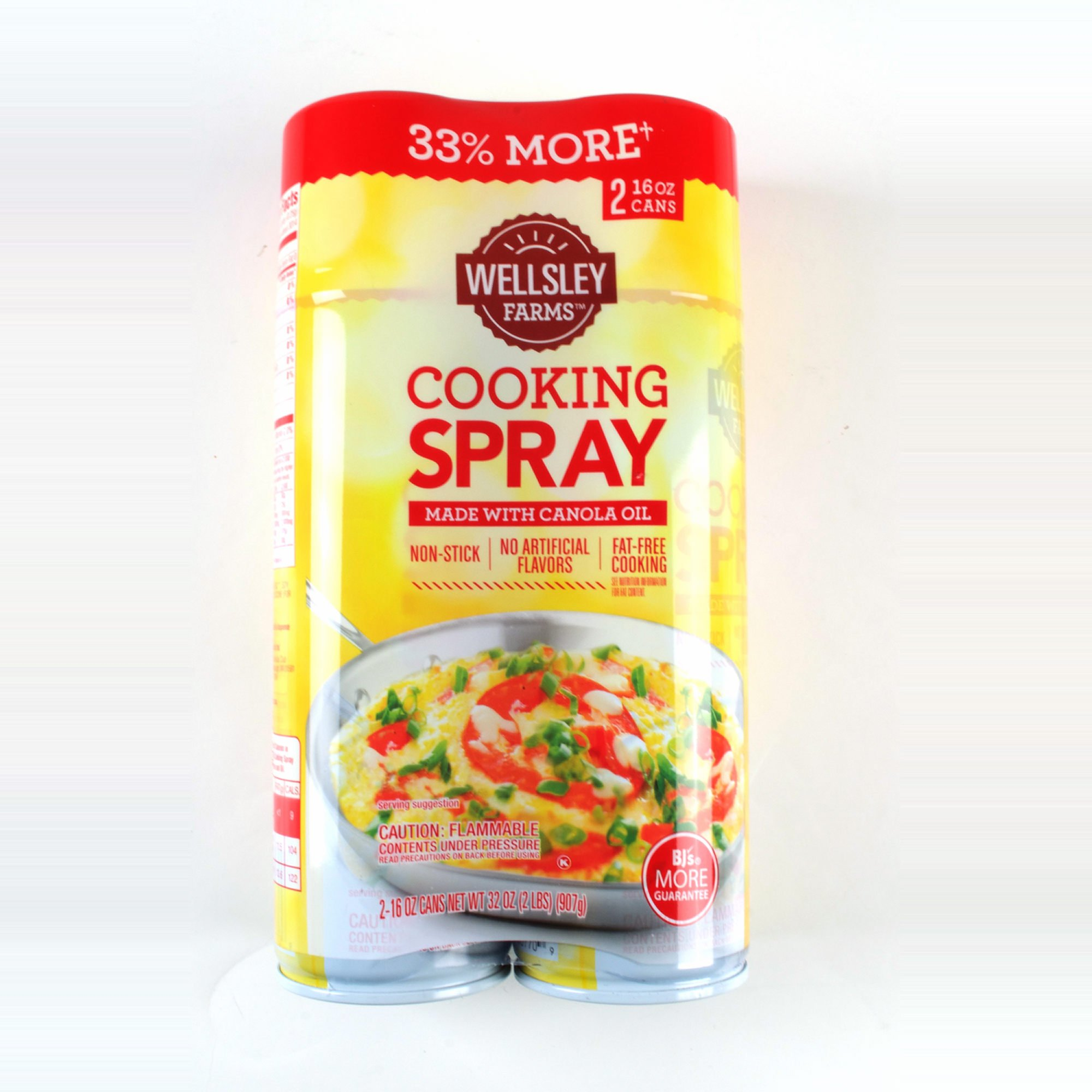 Wellsley Farms Cooking Spray, 2 ct./16 oz. (pack of 6)
