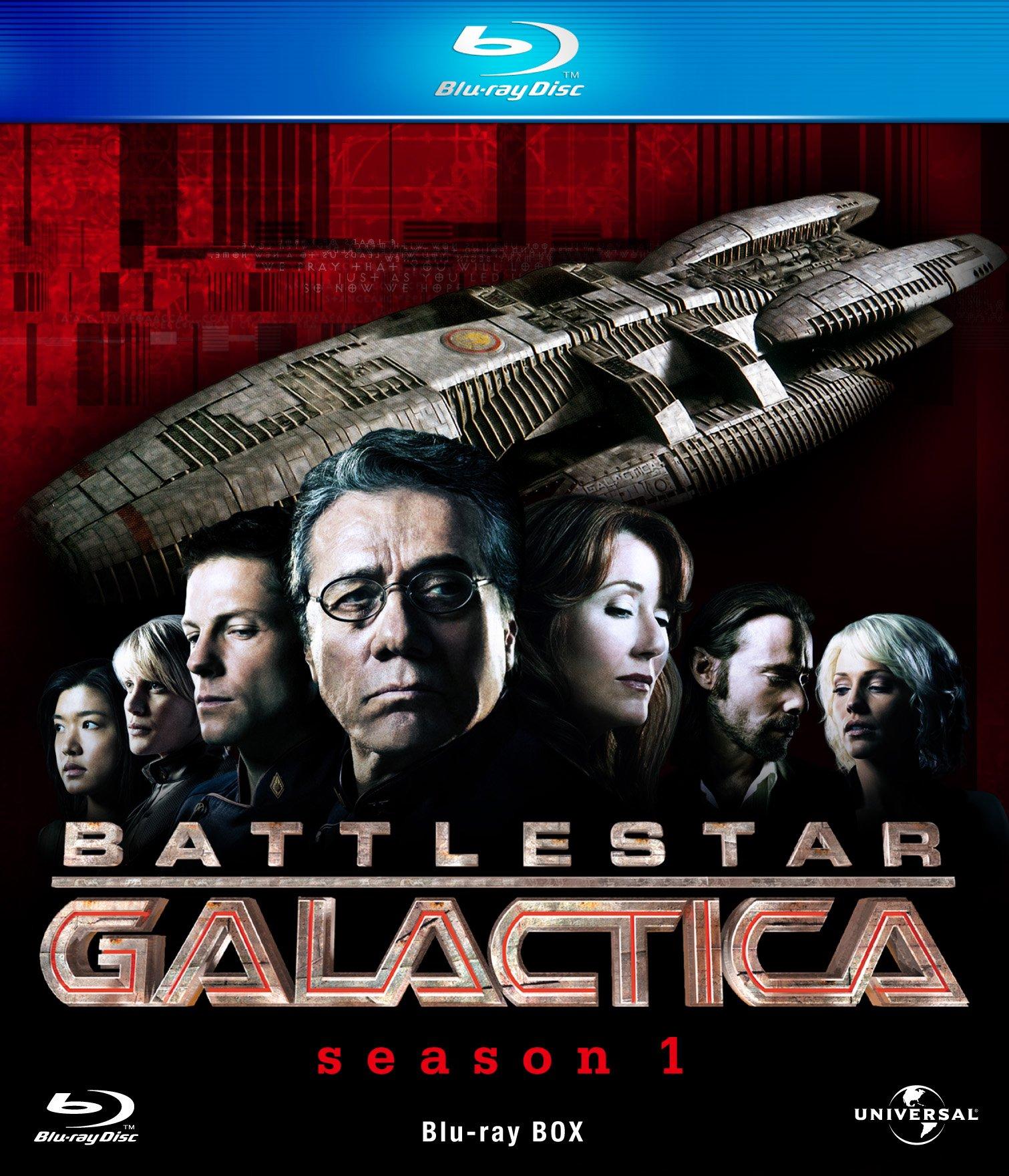 Battlestar Galactica Blu-ray Box [Blu-ray]