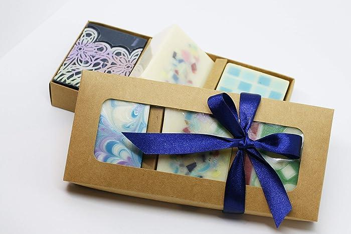 Amazon Com Natural Handmade Soap Gift Set Soap Gift Box