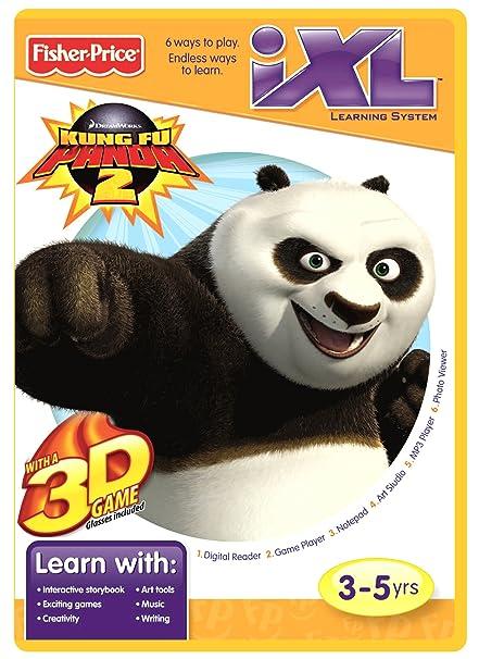 amazon com fisher price ixl learning system software kung fu panda rh amazon com