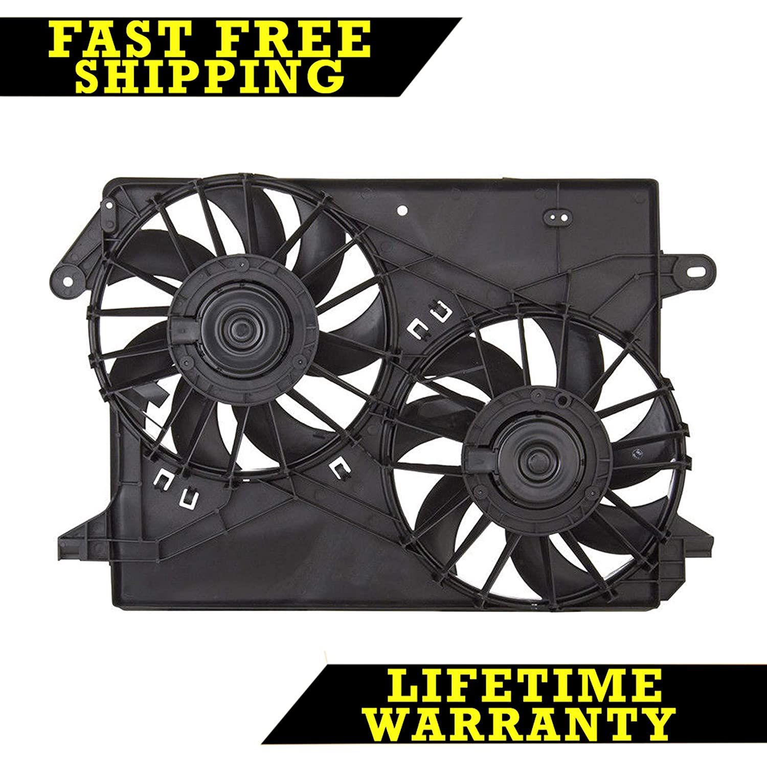 RADIATOR CONDENSER COOLING FAN FOR CHRY DODGE FITS CHARGER MAGNUM CH3115132 Sunbelt Radiators