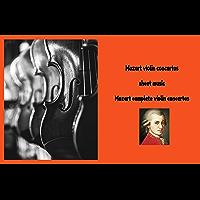 Mozart violin concertos sheet music - Mozart complete violin concertos