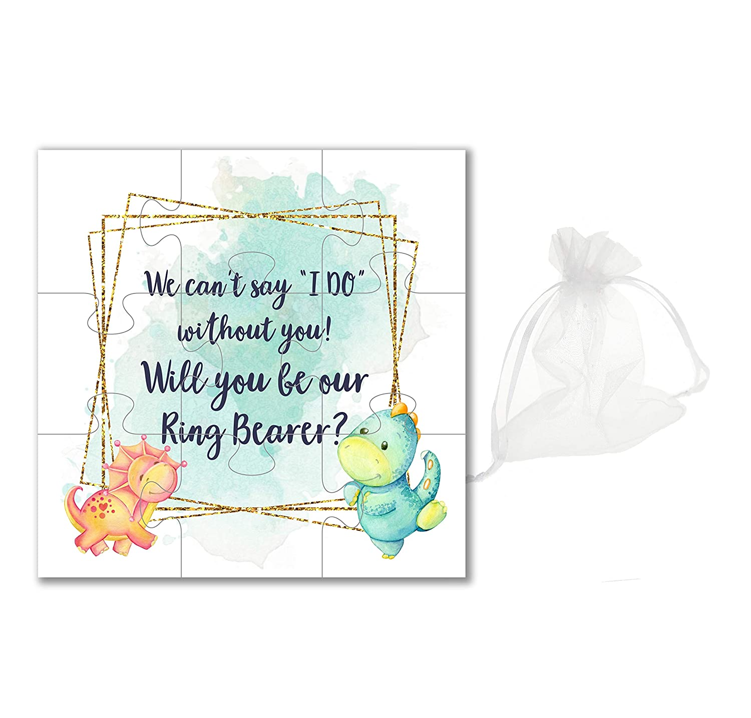 Ring Bearer Proposal Will you be our Ring Bearer puzzle invitation