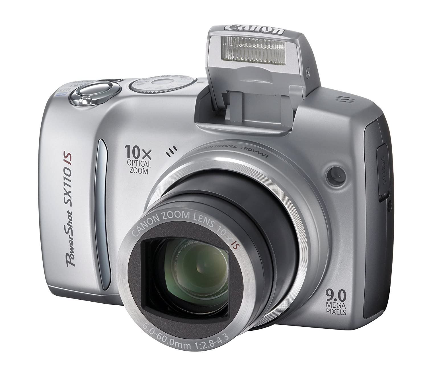 Amazon.com : Canon Powershot SX110IS 9MP Digital Camera with 10x Optical  Image Stabilized Zoom (Silver) : Point And Shoot Digital Cameras : Camera &  Photo