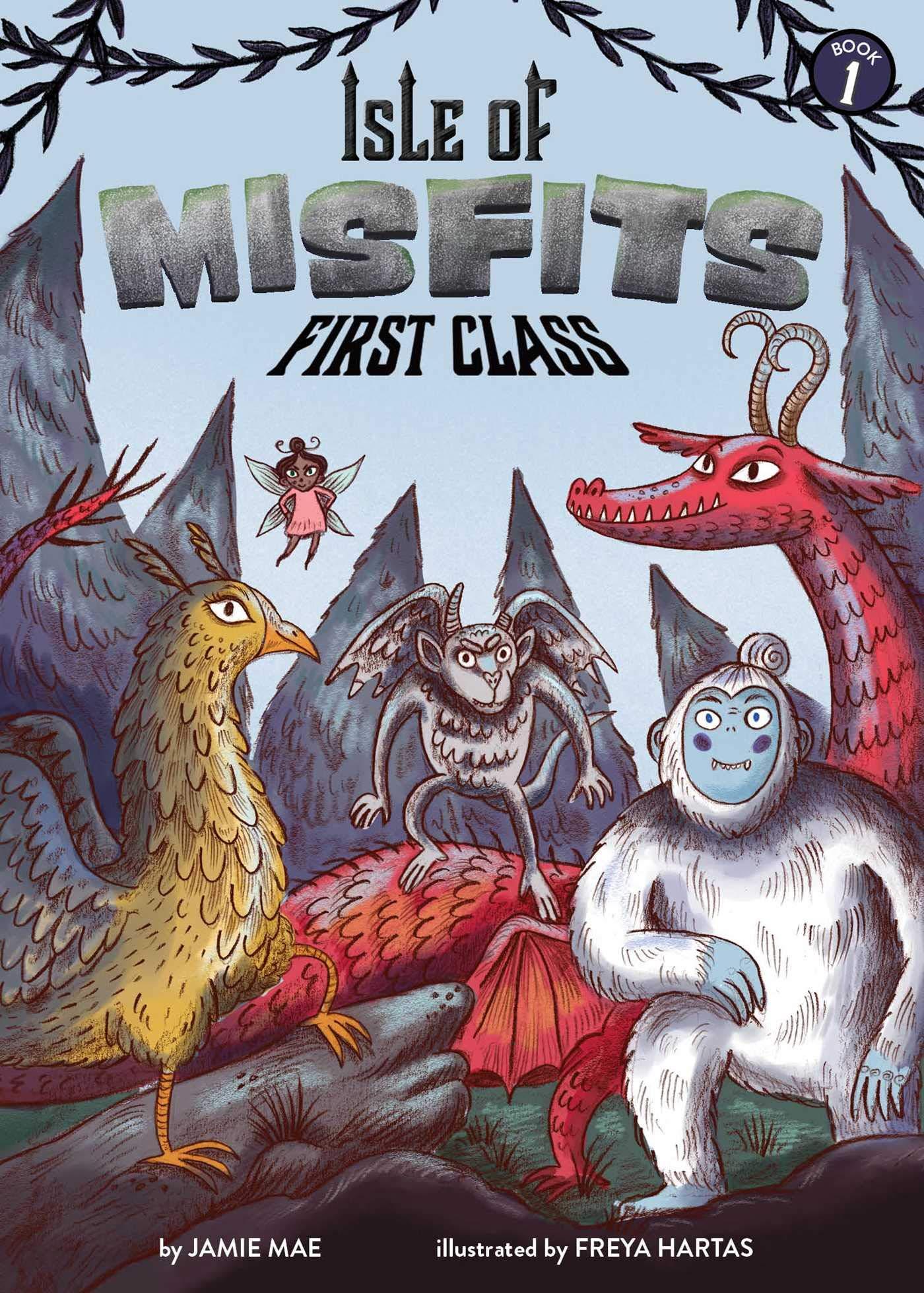 Amazon.com: Isle of Misfits 1: First Class (9781499808216): Mae, Jamie, Hartas, Freya: Books