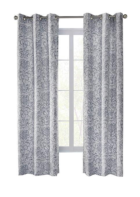 Amazon Com Commonwealth Home Fashions Conrad 52x108 Grey