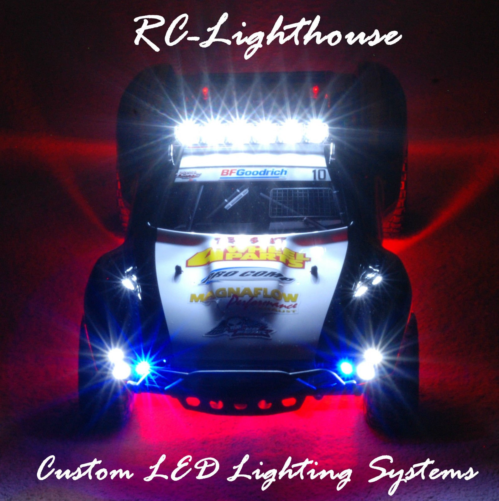 Traxxas Slash 4x4 2WD Ultimate LED Light Set. Will fit SC10 or other SC vehicles #9