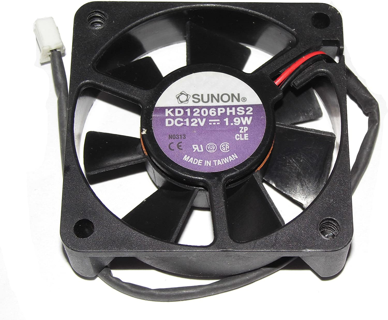 SUNON 6015 KD1206PHS2 12V 1.9W 2Wire Cooling Fan