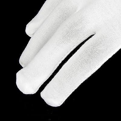 12 paires 100% gants de coton Gants hydratants