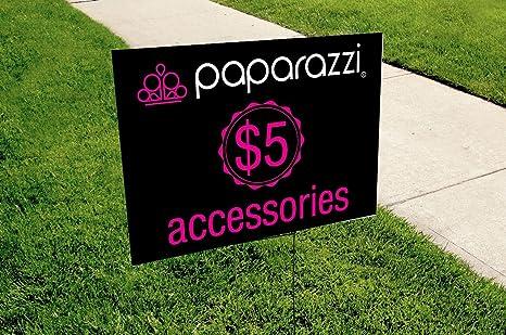 Amazon Com Mansiprintshop Com Inc Paparazzi Yard Sign Size 18in
