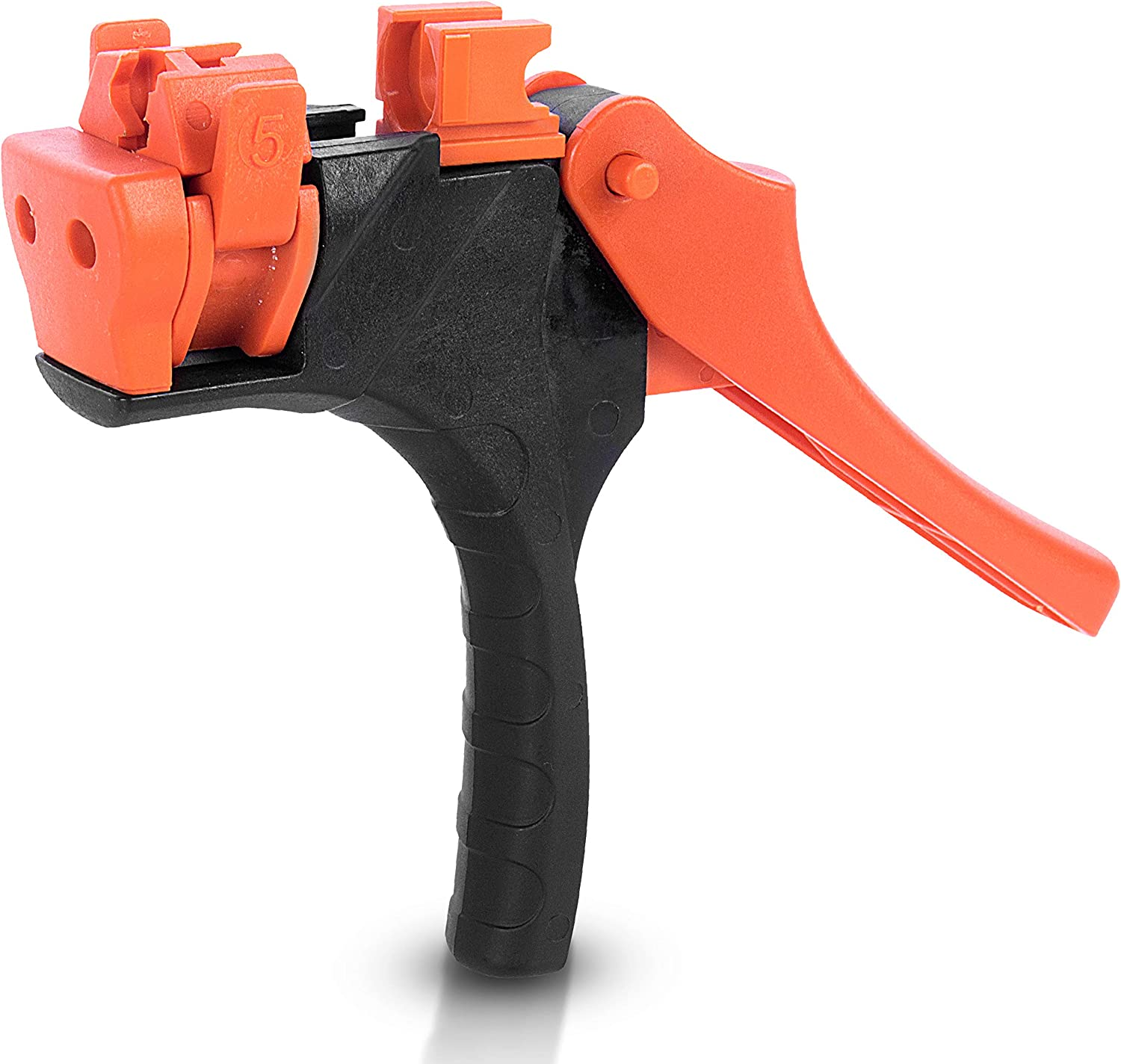 AL-MAGOR Talli Grip TG Garden Tool: Gun for Inserting Components - Connectors & Drippers into Micro-Pipes for Irrigation Pipes with Ease - Model 700011