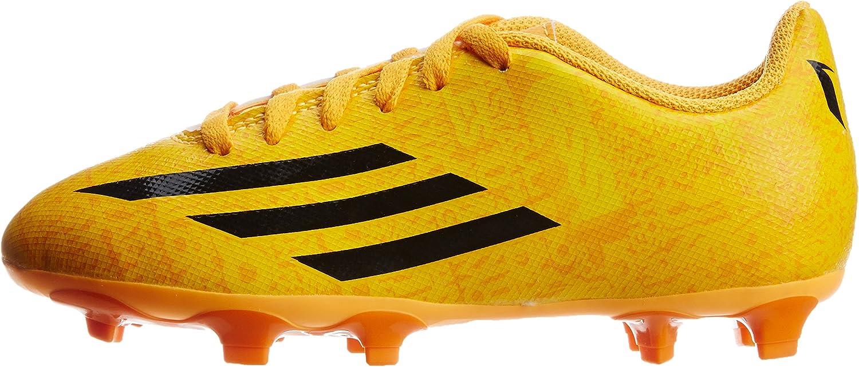 Adidas Leo Messi F5 FG niños Botas zapatos de fútbol de leva