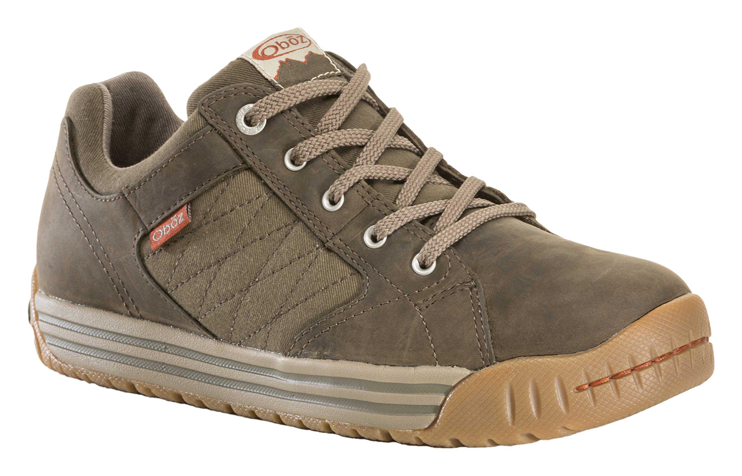 Oboz Men's Mendenhall Low Lifestyle Shoe,Tarmac,10 D US