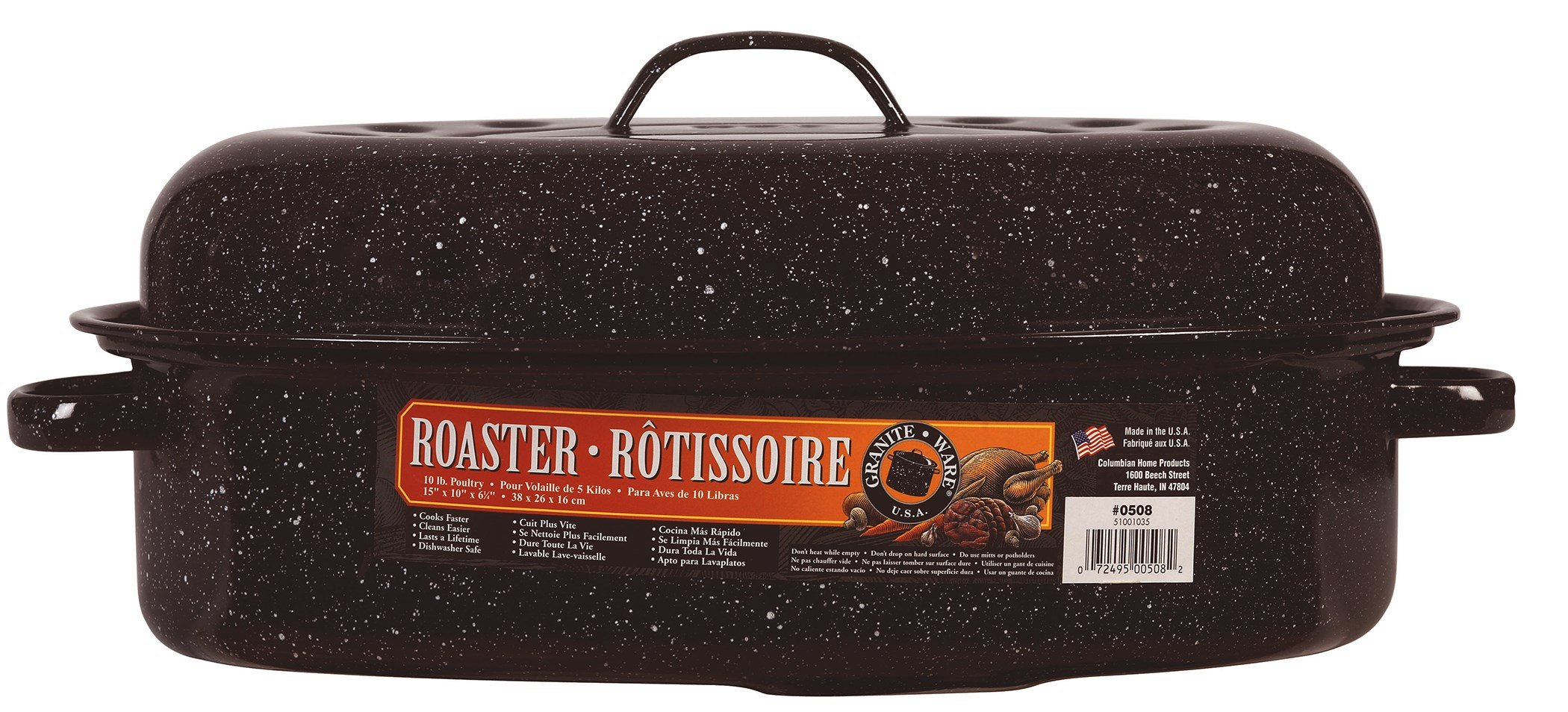 Roaster+cover Oval 9-12#