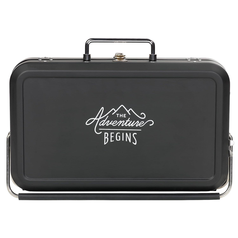 Gentleman's Hardware Small Suitcase Style BBQ Black Gentlemen's Hardware AGEN075
