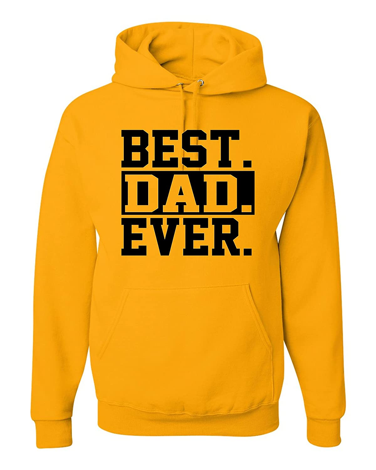 Adult Best Dad Ever #1 Dad World's Greatest Dad Father's Day Hooded Sweatshirt Hoodie