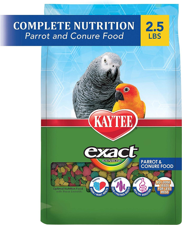 Kaytee Exact Rainbow Parrot & Conure Food