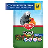 Kaytee Alimento exacto para pájaros arcoíris para loros y garbanzos, -, 1,13kg