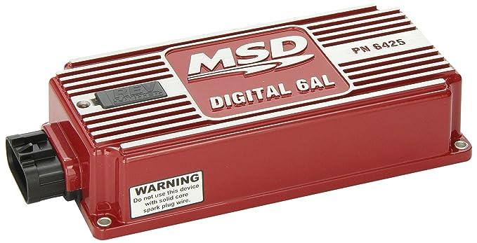MSD Ignition 6425 6 AL Zündung Control Box: Amazon.de: Auto