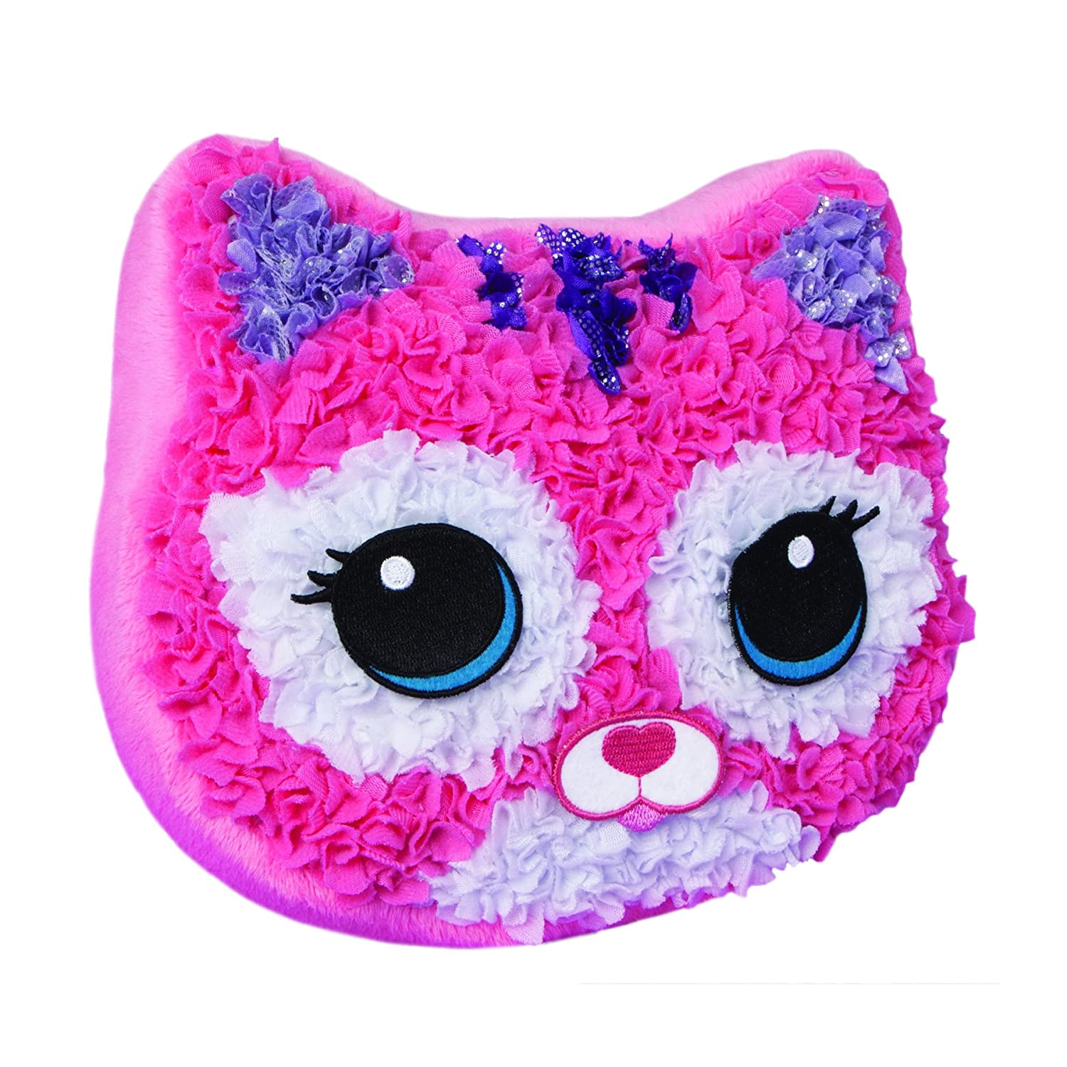 Orb Factory 67816 Plush Craft Purr-Fect Pillow The Orb Factory Non-Classifiable