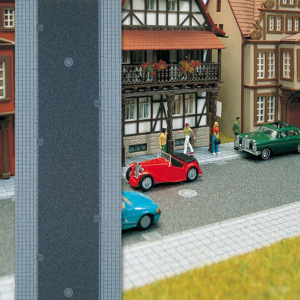 Carretera para modelismo ferroviario H0 escala 1:87 BUE6038 Busch
