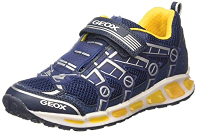 Geox SP Geox J845DD 054FU C0036 Coridan Jungen Halbschuh aus Lederimitat Geox System, Groesse 33, Royalblauweiß