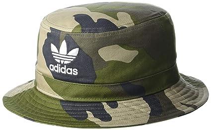 adidas Men's Originals Camo AOP Bucket Hat, Aop Camo Olive