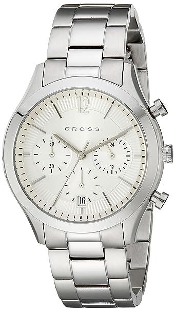 Cross Analog White Dial Men's Watch - CR8022-22 Men at amazon
